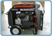 Small propane engine